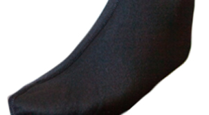 Polypropylene Thermal Booties, Color: Black