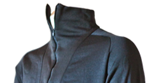 Polypropylene Thermal Turtleneck, Color: Black